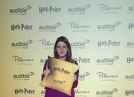 evento audible harry potter